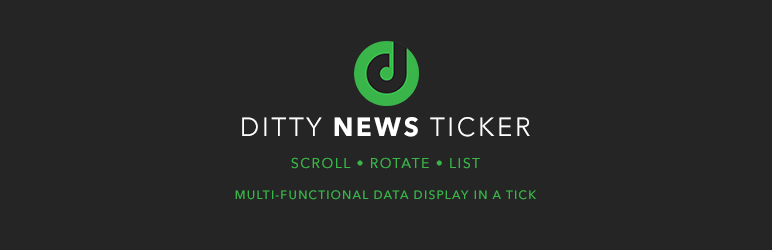 ditty news ticker logo
