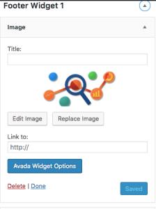 footer widget avada logo