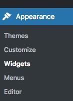 widget avada