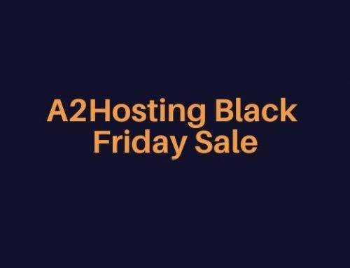 A2Hosting Black Friday Sale 2021 – Get Hosting plan at $1.99 and 75% off