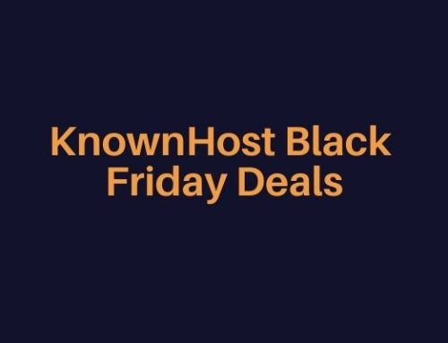 KnownHost Black Friday Deals 2021 {Get 50% discount on all its plans}